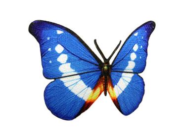 Patchwork borboleta grande Rp ref. P043 c/ 1 un