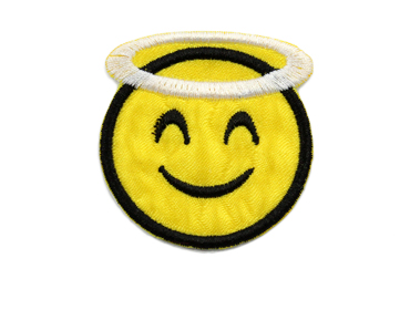 Patchwork emoji anjo Rp ref. PW386 c/ 1 un