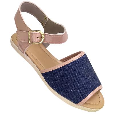 Sandália Avarca Jeans Azul Ana Julia 015