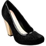 Sapato Feminino Scarpin Dijean Bordado 833/653
