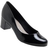 Sapato feminino Beira Rio 640029452 Verniz Cristal