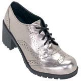 Sapato feminino Redak 1258 Prata