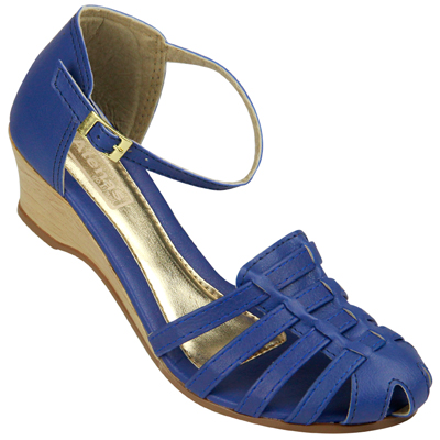 Sandália Feminina Atenas do Brasil 019 Azul