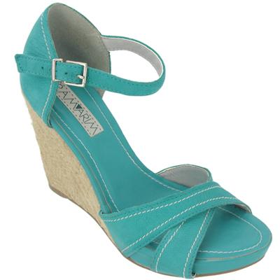 Sandália Ramarim azul 1143201