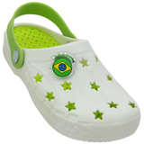 Croc Brink Branco/verde 432