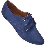 Sapato Oxford Jeans 4011TC