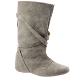 Bota Feminina Via Bag Taupe 103