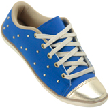 Tênis Feminino Dslum Glam Casual 14000 azul