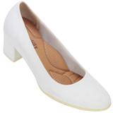 Sapato feminino Piccadilly 110072 Branco