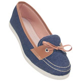 Sapato feminino 1132 Jeans
