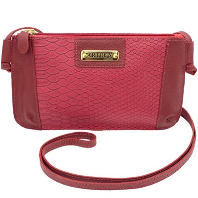Artlux Bolsa Tiracolo Feminina vermelha 8095