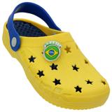 Croc Brink Amarelo/Azul 432