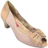 Peep Toe Feminino Salto Comfortflex 1392405