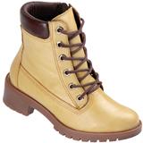 Bota Coturno Ramarim amarela 1550105