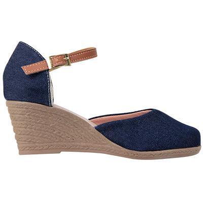 Sapato Feminino Via Bella 1134 Jeans