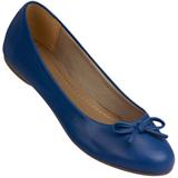 Sapatilha Feminina Atenas Color 9219212 Pele/Azul