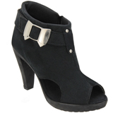 Ankle Boot Preto/Laço 905