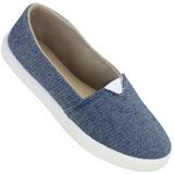 Alpargata feminina Byara 055 Jeans