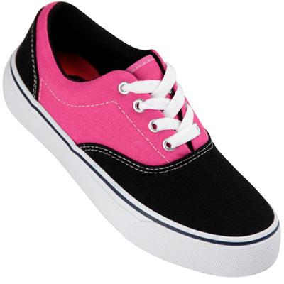 Tênis Casual Feminino Thender Preto/Pink 344