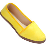 Sapatilha Feminina Carol Pires 200 Amarelo
