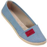 Sapatilha feminina Moleca 5287113 Jeans