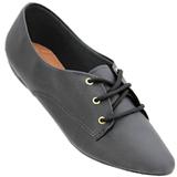 Sapato Oxford Preto 4011