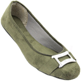 Sapatilha Via Bag verde Militar 001