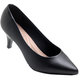 Sapato feminino Beira Rio 4076.150 Preto Napa