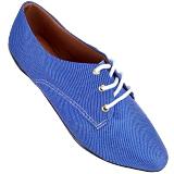 Sapato Oxford Jeans Claro 4011TC