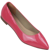 Sapatilha Feminina Atenas do Brasil 220000 Verniz Pink