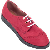 Sapato Oxford feminino Atenas 4006 Bordo