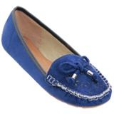 Sapatilha Feminina Durban Azul 161200