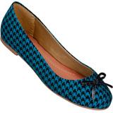 Sapatilha Feminina Atenas 9219212 Escoc�s/Azul