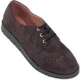 Sapato Oxford feminino Atenas 4006 Café
