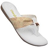 Chinelo Comfortflex Branco Nude 1377401