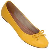 Sapatilha Feminina Atenas Color 9219212 Pele Amarelo