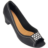 Peep Toe Feminino Piccadilly 714013