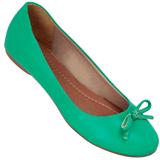 Sapatilha Feminina Atenas Color 9219212 Pele Verde