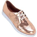 Sapato feminino Oxford Kalyta 4006 Rosê