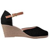 Sapato feminino Via Bella  1134 Preto Lona