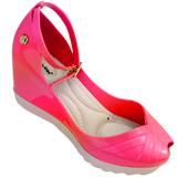 Sandália Peep Toe Miss Miss 10.065 Pink