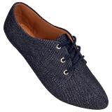 Sapato Oxford Jeans Preto 4011TC