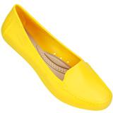 Mocassim Feminino Miss Miss 9800 Amarelo