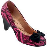 Sapato Feminino Moleca Serpente 5090367