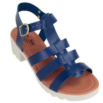 Sandália Tratorada Azul 17100