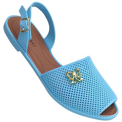 Sandália Avarca Via Bag 088 Azul