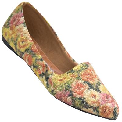 Sapatilha feminina 2108 Floral 210