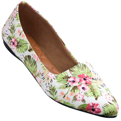 Sapatilha feminina 2108 Floral 11