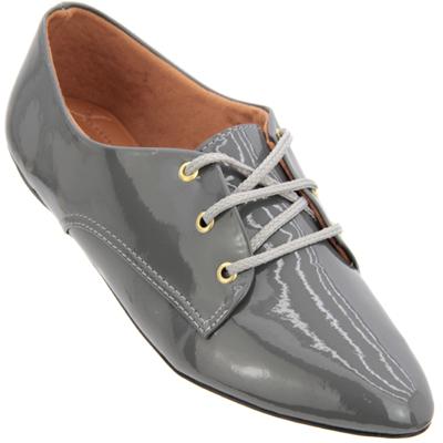 Sapato Oxford Cinza 4011VZ