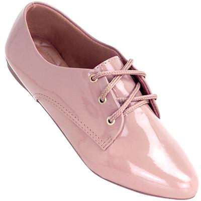 Sapato Oxford Feminino 4011VZ Rose